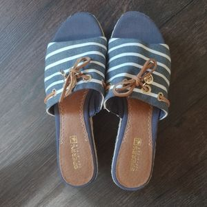 Sperry wedge sandals/espadrilles